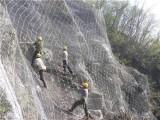 包塑主动防护网 山体防护网 SNS柔性防护网