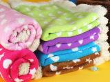 秋冬新品Petstyle星心珊瑚绒毯子泰迪宠物狗狗保暖毯子用品批