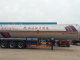 程力厂家供应25吨液化气运输车液化气半挂车价格50立方地埋罐