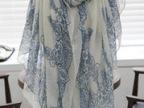 围巾批发女韩版青花瓷超大棉麻巴厘纱夏秋冬季披肩两用丝巾批发