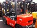 厂区内专用实心胎二手3吨叉车/柴油4米堆高叉车