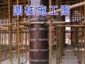 2016新推出环氧树脂覆膜木质圆模板直径0.3-2.2米