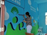 珠海乡镇文化墙专业壁画彩绘 农村文化村高端墙绘