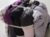 棉制花色杂色旧T恤擦机布工业抹布劳保用 吸水吸油