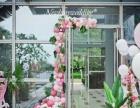 青岛飛屋儿童生日宴会气球装饰策划 森林火烈鸟主题