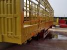 13米仓栏半挂车 最新报价1年1万公里6.5万