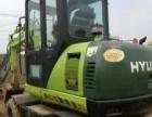 二手挖掘机现代60轮挖