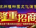 【荐】凉州植物园演艺广场广告位招商