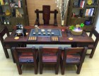 老船木茶几客厅接待沙发配套实木炕几功夫茶桌现代中式