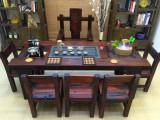 老船木茶幾客廳接待沙發配套實木炕幾功夫茶桌現代中式