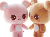 新款毛绒玩具偶布娃娃想念熊公仔抱枕男女孩朋友生日创意礼物儿童