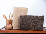 无包手筑茯砖1kg 安化黑茶茯砖茶 金花保健茶叶