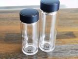 西安希诺玻璃杯双层加厚自动茶水分离喝茶上档次的泡茶杯