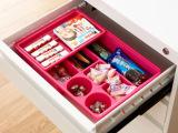 P1605 炫彩双层抽屉收纳盒 办公 厨房多功能杂物整理收纳盒 424