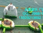 天蕊游乐 水上运动球 水上乐园 充气水池 支架水池 沙滩池