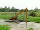 衡水湿地挖机租赁公司