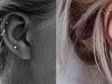 南昌纹身,纹身培训,较迷人的纹身部位 耳软骨刺青