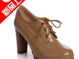 成都女鞋厂家直销 2014春秋季时尚高跟鞋单鞋新款批发  一件代