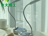 供应太阳能led台灯 超亮照明室内小夜灯护眼学习折叠usb充电照