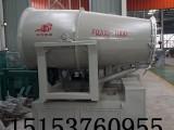山东钢厂堆料场全自动抑尘降温雾炮机
