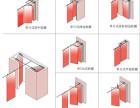 直销湛江市酒店餐厅移动隔断 活动屏风厂家上门安装