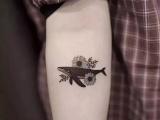 南昌纹身,纹身培训,精选纹身图案 鲸鱼纹身