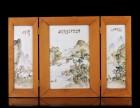 珠山八友瓷板画成交价格