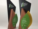 木質金屬獎杯獎牌定制定做優秀員工獎企業公司榮譽獎創意造型獎杯