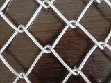 厂家生产菱形防护勾花网 优质球场安全围网