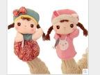 metoo咪兔可爱安吉拉女孩毛绒玩具公仔卡通手偶娃娃生日礼物