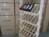现货供应葡萄酒架 实木酒架