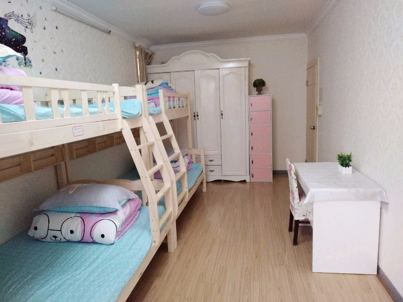 青年公寓 长短租 多种房型,精装全配,拎包入住