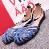 欧美洲站外贸原单BSK ZARA新款潮女士平底凉鞋子免费一件代理批发