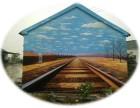 齐河美丽乡村 德州3D墙绘 陵县文化墙 夏津壁画 武城彩绘