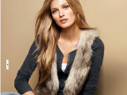 直销新款大码女装 欧美时尚仿皮草背心皮草马甲 外贸女士外套批发