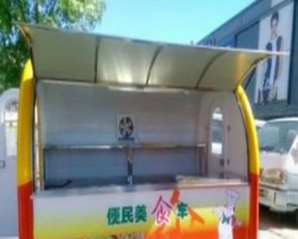 流动房车特色烧烤美食快餐车多功能电动小吃车关东煮麻辣烫铁板烧