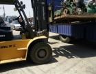 大兴榆垡叉车出租销售大型设备人工起重搬运十吨租赁叉车