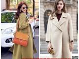 阿尔巴卡大衣时尚经典双面呢品牌折扣女装货源哪里有