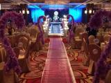 北京婚庆灯光音响玻璃舞台等设备租赁