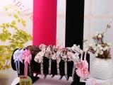 特价绒布头花架 头发箍架 格子铺 饰品展示架 韩国高档首饰架