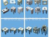 深圳供应母端子 电子五金端子 PCB板焊接端子 五金件