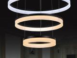 客厅灯 现代简约led艺术个性餐厅灯 时尚卧室书房吸顶吊灯饰灯具