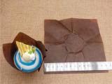 郁金香蛋糕纸托 特殊纸质订制马芬纸杯 高温烘焙包装蛋糕杯专用