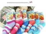 糖果色儿童毛巾袜子 儿童袜 毛巾袜