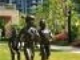 园林雕塑铸造动物图片_河北恒保发铜雕