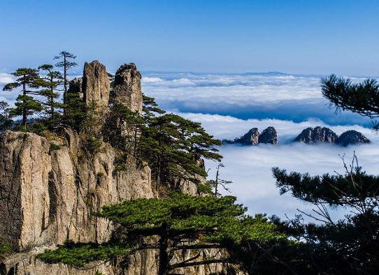 常州旅游行业网:黄山景区新发现石笋矼古道及古遗址