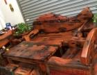 定西实木家具办公桌茶桌椅子老船木客厅家具沙发茶几茶台餐桌案台
