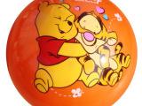 厂家供应儿童充气全印球卡通人物玩具球/皮球 9寸22cm全印球批