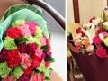 省四院附近鲜花店 康乃馨百合玫瑰花束 看望病人花束