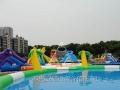 2016新款宣城地区专供地区 支架水池泳池 水上乐园水上滑梯 冲